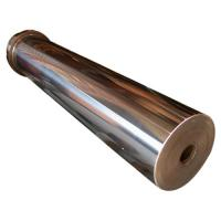 Mirror finish steel roller