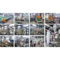 Crushing washing line for PET bottles