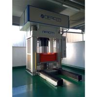 Oleodynamic press for gasket
