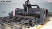 Fiber cutting machine / cnc plate drilling oxy and plasma cutting machine