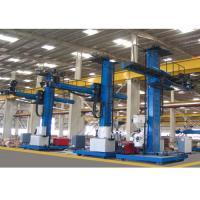 Wind tower fabrication line