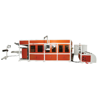 3-positon thermoforming machine