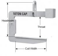 Heavy duty coil hook (dh&/)