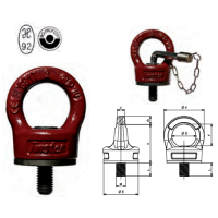 EYEBOLT TWISTER WITH BEARING