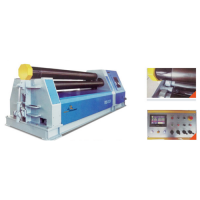 Hydraulic 4-roller rolling machine