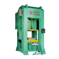 H-Frame single crank precision power press-200tons
