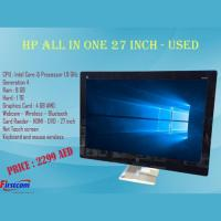 Hp all in one 27 inch - used