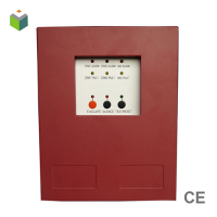 2 zone conventional fire alarm control panel