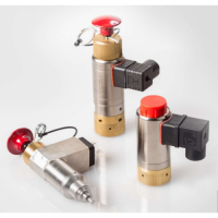 Latching solenoids and latching solenoid valves