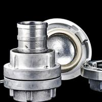 Aluminum alloy storz coupling as per DIN-German standard.