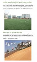 Environmental protection elastic rubber particles