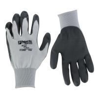 Finger fit polyurethane glove