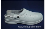 AX06005-1 white safety leather upper