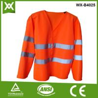 long sleeves safety vest