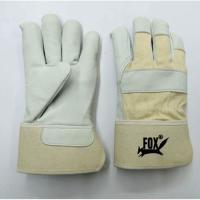 Cow Hide Grain Canadian Rigger Gloves
