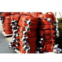 Durable fire hose with coupling
