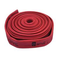 Red durable fire hose