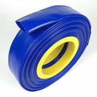 Blue durable fire hose