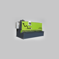 Series cnc qc12y/k hydraulic swing beam shear