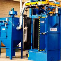 Continuous operated Blasting Machine