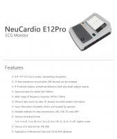 NeuCardio E12Pro ECG Monitor