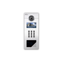 4.3 Inch TFT LCD Screen Keypad Outdoor Station For Multi Aparments With Night Vision