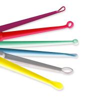 Colorful Plastic PP Ear Curette With Various Size