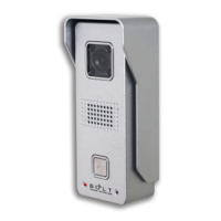Villa Video Door Phone HD CMOS Camera Wired Compact Metal Outdoor Unit With Night Vision P1