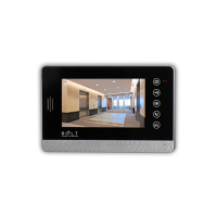 7 Inch HD Color LCD Screen 4 Wire Handsfree Villa Video Door Phone With Photo Recording, Call Transfer, Intercom Between At Most 4 Monitors C72M