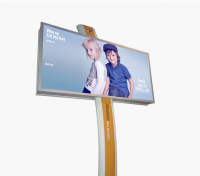 City billboard / banana pole