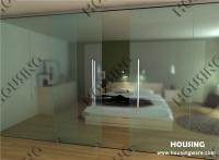 Framless glass door