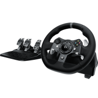 Logitech G920 Driving Force  Racing Wheel for XBOX one and PC  Part NO: 941-000124