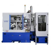 MICROSTAR L20T-W-NCL (PARALLEL TWIN SPINDLE TWIN TURRET PRECISION CNC LATHE WITH 3-AXIS GANTRY LOADER)
