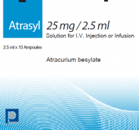 ATRASYL 25 MG/2,5 ML SOLUTION FOR I.V. INJECTION OR INFUSION