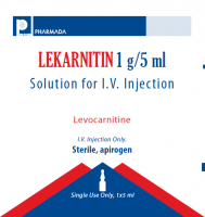 LEKARNITIN 1 G/5 ML SOLUTION FOR I.V. INJECTION