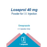 LOSEPROL 40 MG POWDER FOR I.V. INJECTION
