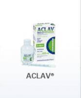 Amoxicillin trihydrate + potassium clavulanate aclav