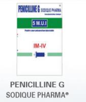 Benzylpenicillin Sodium - Penicilline G Sodique Pharma
