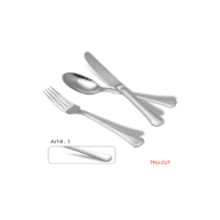 Stainless steel cutlery art #1