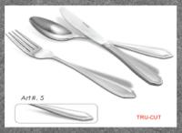Stainless steel cutlery art #5