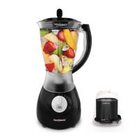 TOUCHMATE Smart Blender with Grinder - 300W, Multi-Function Option: Blending, Grinding Made Easy, Black (TM-BL2002J)