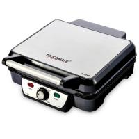 TOUCHMATE Contact Grill - 1800W, 6-in-1 Griller, 50% Energy Efficient, Black (TM-CG101S)