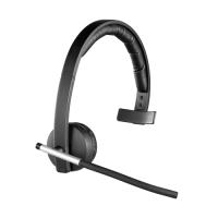 Logitech Wireless Headset H820e Mono Part No: 981-000512 (Mono) Part No: 981-000517