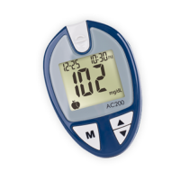 Ac200 blood glucose monitoring system