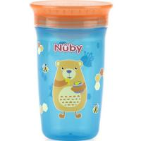 Nuby Any Angle Sip 360° WONDER Cup W/ Cover 300ML 12m+