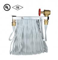 Fire hose rack assembly