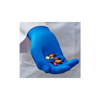 Nitrile powder free 3.5 mil extended cuff