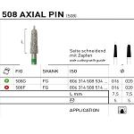 508 Axial Pin (508) Side Cutting with Guide