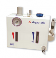 Aqua mill- water cooling air turbine system