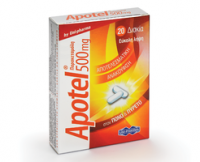 Apotel tablets (paracetamol)